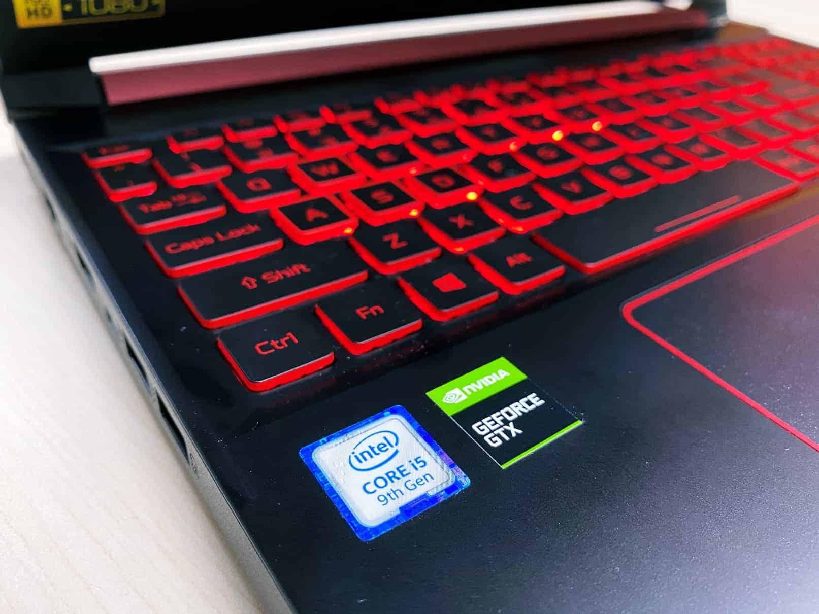 Acer NITRO 5 Intel 9th dan NVIDIA GTX