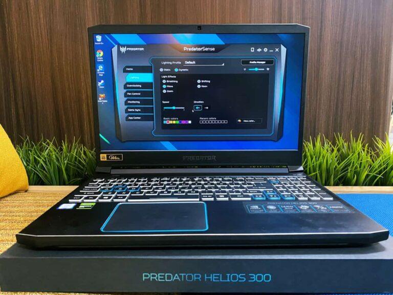 Review Acer Predator Helios 300: 20 Jutaan dengan RTX 2060