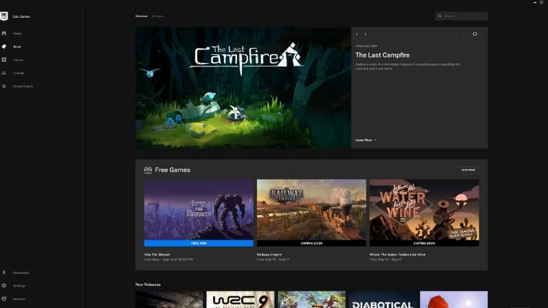 Epic Games Store Situs Download Game PC Gratis