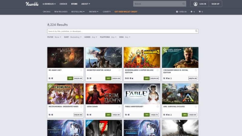Humble Store Situs Download Game PC Terbaik