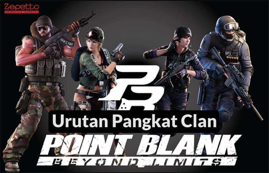 Urutan Pangkat Clan PB Zepetto