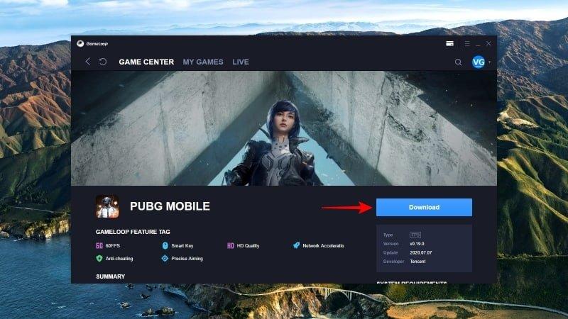 Cara Download PUBG Mobile PC Laptop