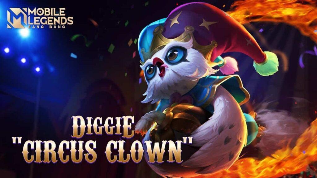 Diggie Circus Clown
