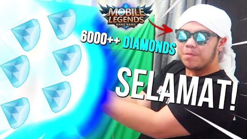Dylandpros Giveaway 6000 Diamonds Mobile Legends