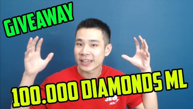 Jessnolimit Giveaway 100000 Diamonds Mobile Legends