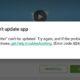 penyebab aplikasi di playstore tidak bisa diperbarui